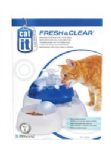 Catit Design Fresh and Clear Cat Drinking Fountain with Food Bowl